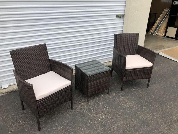 3 Piece Patio Furniture Set For Sale In La Mesa Ca Offerup