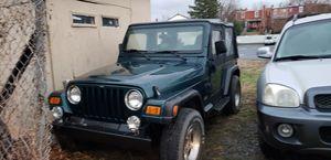 97 jeep wrangler over 200k miles for Sale in Frederick, MD