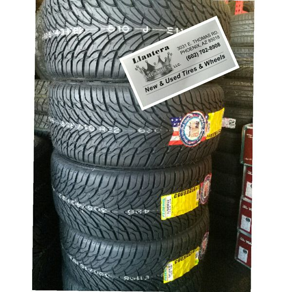 305 40 22 Full Set Of New FEDERAL Tires FINANCE AVAILABLE