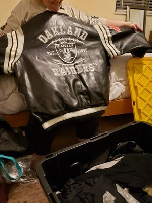 half off 6041d 2973a New and Used Leather jacket for Sale in Fairfield, CA - OfferUp