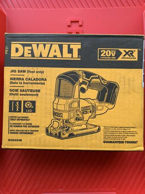 Photo DEWALT 20-Volt MAX XR Lithium-Ion Cordless Brushless Jigsaw (Tool-Only)