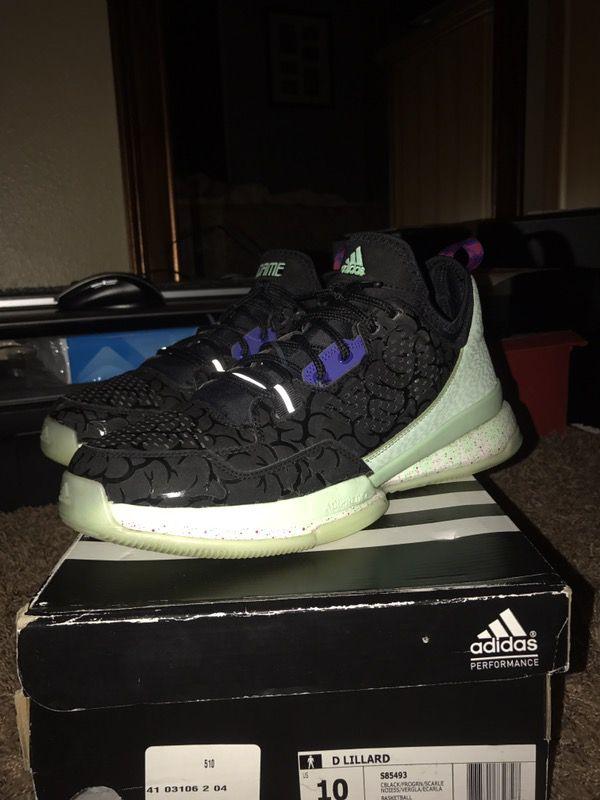 online store 12089 70c59 Adidas D Lillard 1 Ballin Dead