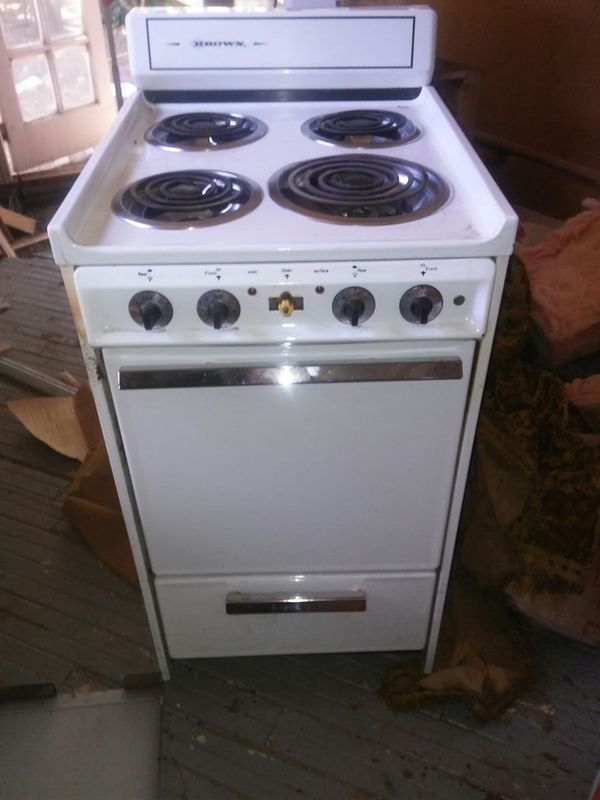 Apartment size stove electric for Sale in Martinez, CA - OfferUp