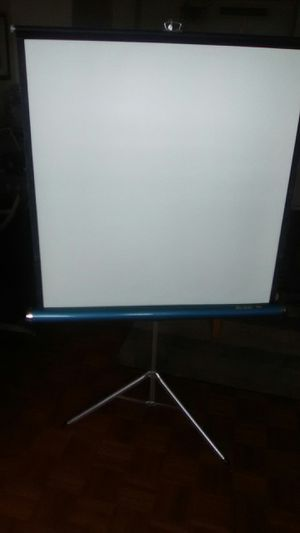 Movie projector screen for Sale in Columbus, OH