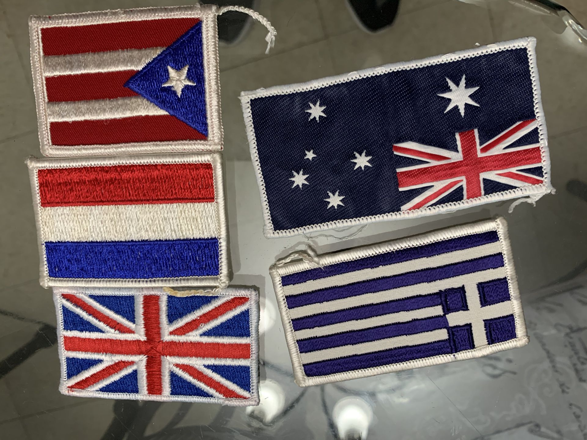 Flag patches