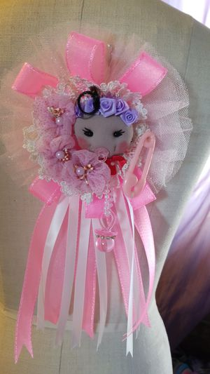 Corsage baby shower girl for Sale in San Diego, CA