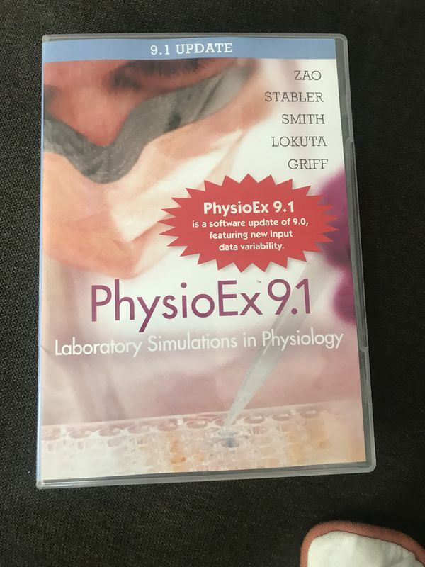 PhysioEx 9.1 laboratory simulations physiology NEW anatomy and ...