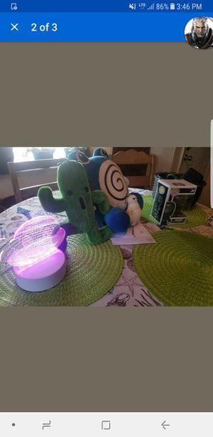 Pokemon plush final fantasy pop ninja turtle night light for Sale in Kissimmee, FL