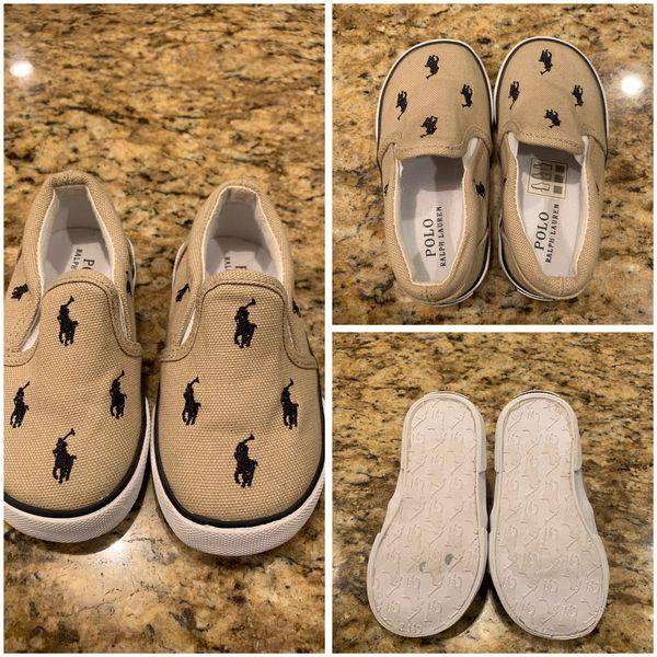 13e21260d Ralph Lauren toddler size 6 shoes for Sale in Midlothian