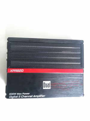 Digital 2 channel amplifier (DUAL) for Sale in Sudley Springs, VA