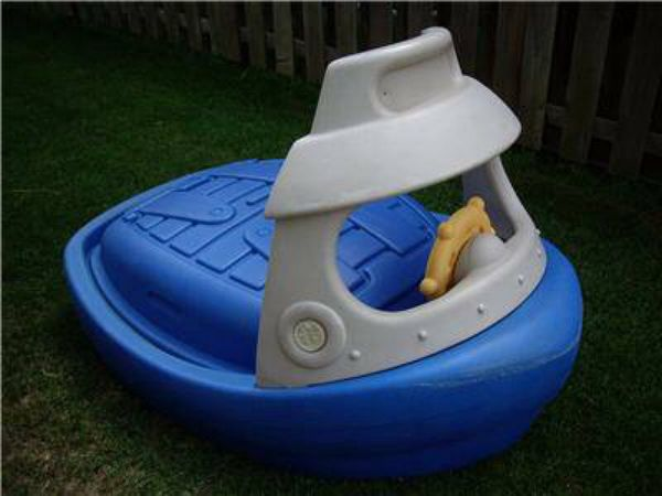Step 2 Ball Pit Sandbox Tuggy Tug Boat For Sale In