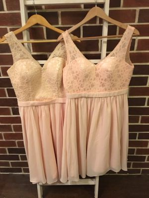 Bridesmaids dresses-2 size 6/8 for Sale in Houston, TX