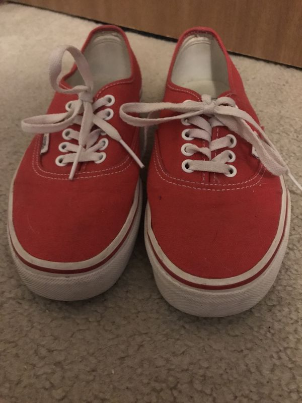 Red Vans for Sale in OH c1cf1d096