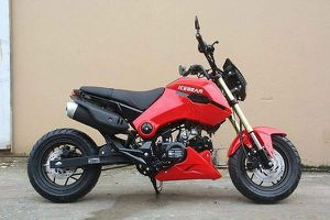 125cc ice bear Honda clone grom motorcycle for Sale in Dallas, TX