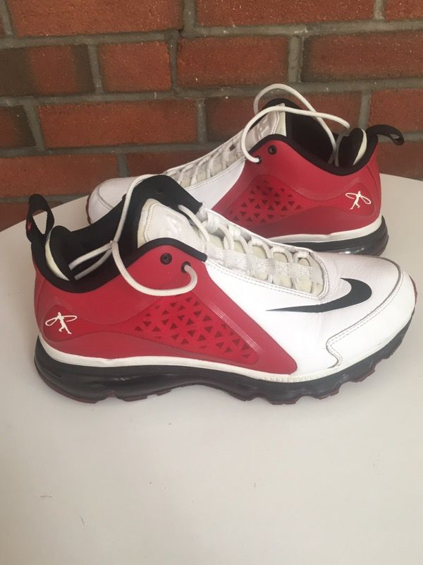 ebc9d2b753 NIKE AIR GRIFFEY MAX 360 MENS CROSS TRAINING SHOES SNEAKERS SIZE 10.5 VARSITY  RED 538408-106 for Sale in New York, NY - OfferUp