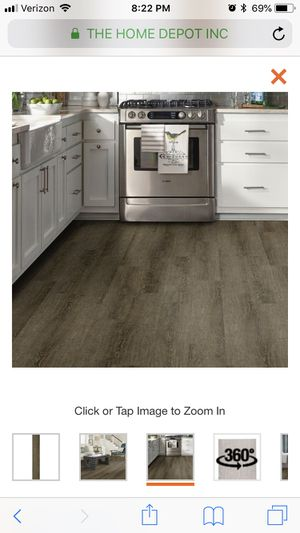 Trafficmaster peel and stick tile - grey ash for Sale in Pittsburgh, PA