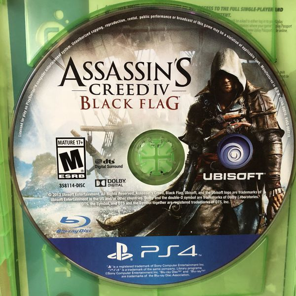 Assassin S Creed Iv Black Flag Ps4 For Sale In Phoenix Az