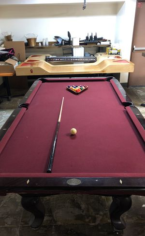 Restaurant Table With Cast Iron Base For Sale In San Diego CA OfferUp - Tiburon pool table