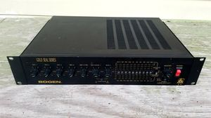 Bogen Gold Seal Series GS-60 Commercial Amplifier/Preowned/Tested for Sale in St. Louis, MO