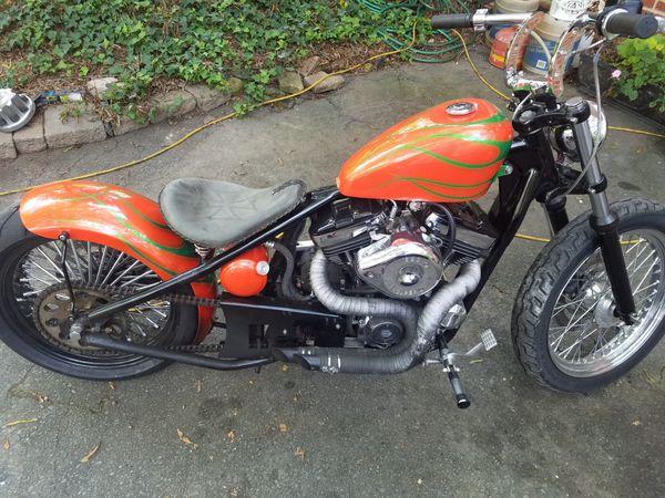 Harley davidson custom frame with 1200c motor for sale in for Honda yamaha lawrenceville