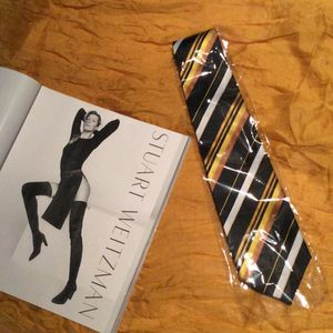 New gold, brown black and white neck tie for Sale in Las Vegas, NV
