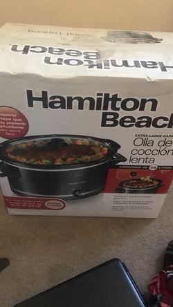 Hamilton beach slow cooker Thumbnail