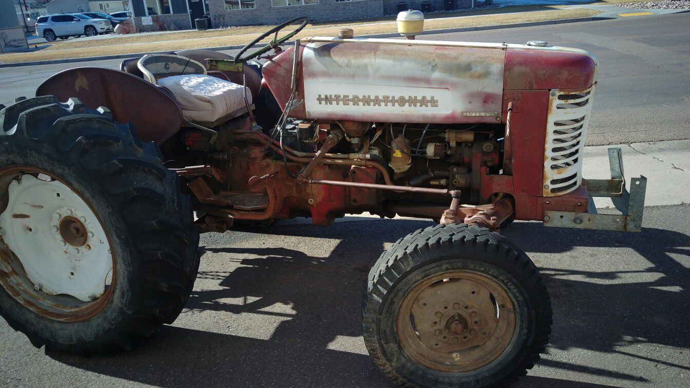 International Utility Tractor