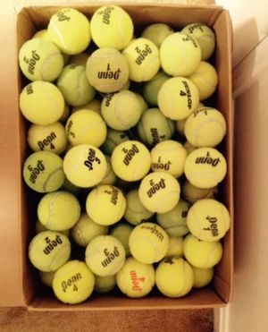 60 Tennis Balls, Excellent Condition for Sale in Dublin, OH