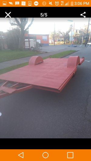 Flat bed atv motorcycles cargo pulls great for Sale in Portland, OR