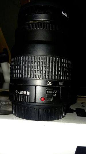 Canon 35-80mm lense with a Kodak cir. Polarizer 52mm and UV for Sale in Summerville, SC
