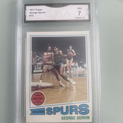 George Gervin 1977 Topps Graded 7 Thumbnail