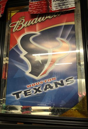 Photo Rockets/Bud Light and Houston Texans/Budweiser Mirror