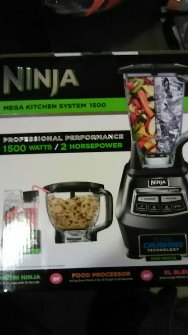 Ninja mega kitchen system 1500 for Sale in San Leandro, CA - OfferUp