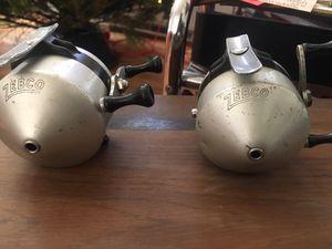 Vintage 1955 zebco standard zero hour bomb 1st spincast reel for Sale in Cincinnati, OH