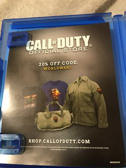 CALL OF DUTY: WWII PS4 Thumbnail
