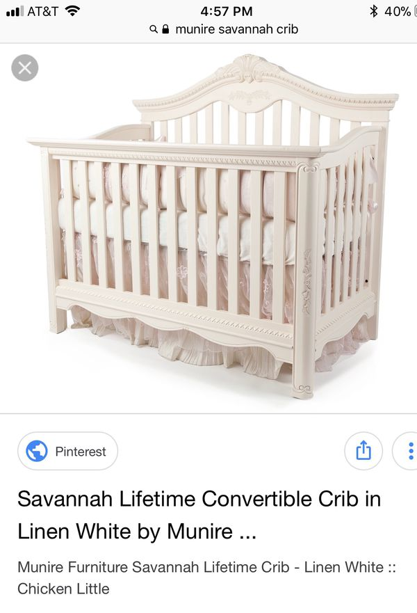 Munire Savannah Crib Toddler Bed Full Size In Phoenix