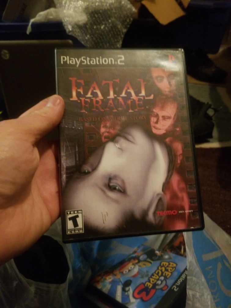 Playstation two Ps2 Fatal frame Complete mint Condition