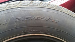 215 65 17/ \ 4 tire a set for sale for Sale in Bowie, MD