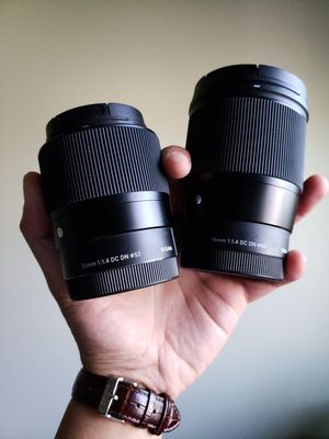 Sigma 16mm & 30mm f1.4 e-mount for Sale in Los Angeles, CA