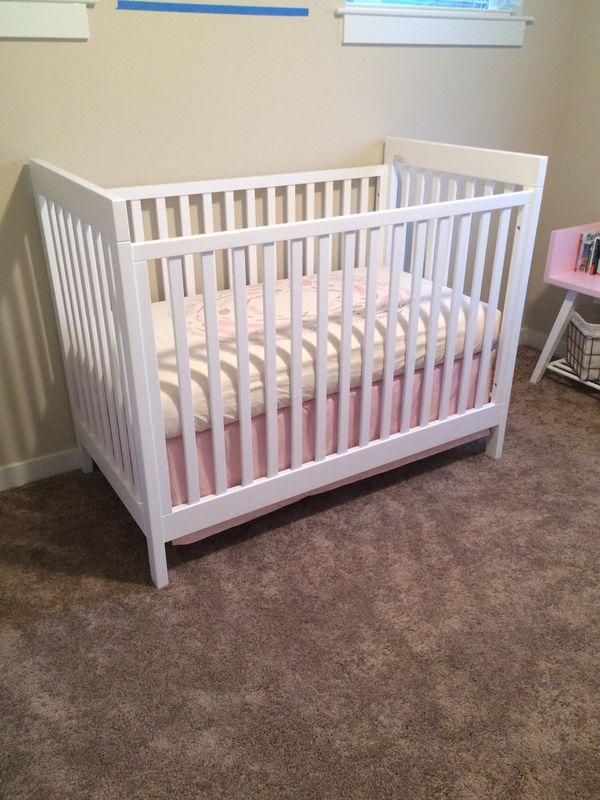 Land Of Nod Elemental Baby Crib