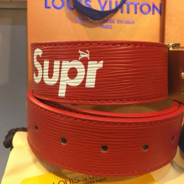 fe7143ef2ae2 Brand new Louis Vuitton Supreme belt no trades for Sale in Las Vegas ...