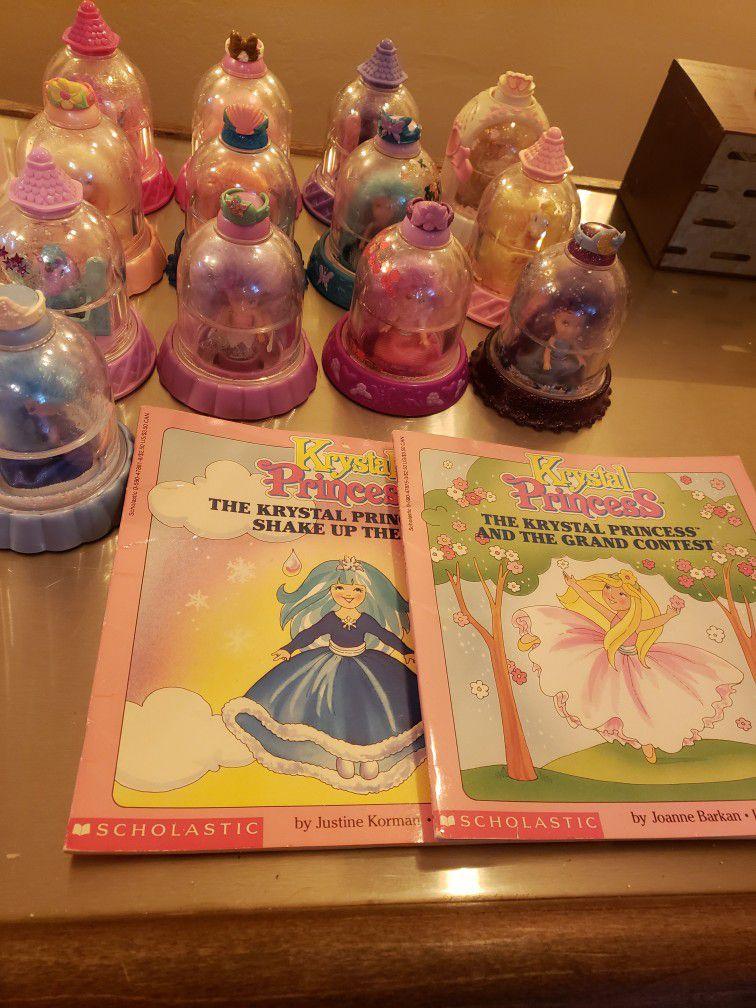 Lot Of 28 Piece Playskool Krystal Princess Lot 1992