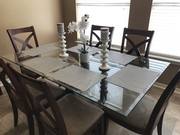 Dinning Kitchen Table 6 Chairs Home Decor Furniture In Spring Tx Offerup