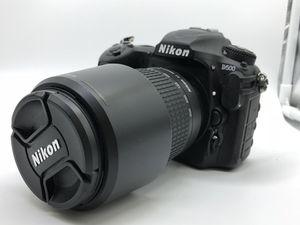 Nikon D500 SLR Camera with 70-300mm Lens for Sale in Scottsdale, AZ