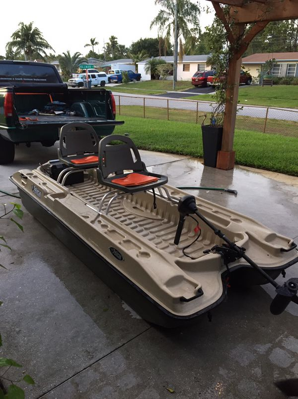 Pelican Bass Raider 10e Fishing Boat For Sale In Palm Beach Gardens Fl Offerup