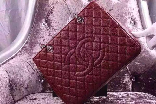 add47ed480a3 Chanel GST burgundy caviar leather + a gift 🎁 of a Chanel earring. Fremont  ...