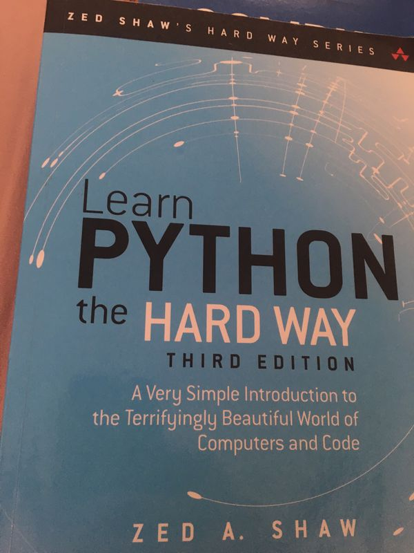 Learn Python The Hard Way for Sale in Greensboro, NC - OfferUp