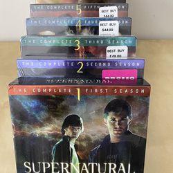 Supernatural DVD Set Thumbnail