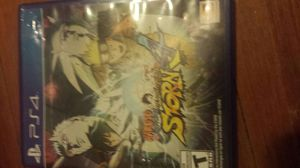 Naruto storm 4 ps4 for Sale in Cleveland, OH