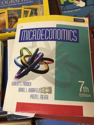 Microeconomics - 7th Ed. - Robert S. Pindyck, Daniel L. Rubinfeld, Prem L. Mehta for Sale in Miami, FL